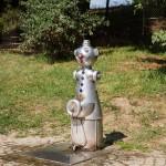 Przy przeprawie promowej Kötitz, hydrant z pitną wodą….z nosa ;)