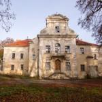 Konarzewo. Pałac z 1689-99, widok od strony ogrodowej