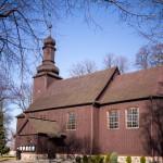 Granowo. Drewniany kościół pw. Św. Marcina z 1729