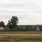 Jeziorki. Drewniany kościół