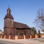 Bronikowo. Drewniany kościół pw. św. Franciszka z 1738 r