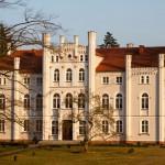 Drzeczkowo. Okazały pałac neogotycki z połowy XIX w