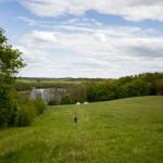 Ta fotka nie oddaje stromizny a na dole nad jeziorem są kampery, jak oni wrócą hmmm