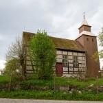Gronowo. Szachulcowy kościół z XVII/XVIII w