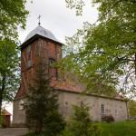 Rydzewo. Stary kościół z XVIII w