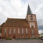 Gotycki kościół w Drawsku Pom. Z XV w