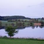 Jezioro w Sławnie