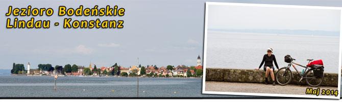 Jezioro Bodeńskie. Lindau - Konstanz.