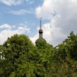 Dolsk – wieża drewnianego kościoła
