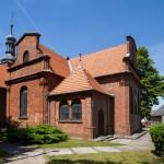 Głuchowo. Kościół neobarokowy z 1751 r