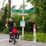 Od szlaku rowerowego wokół Jeziora Bodeńskiego odchodzi wiele innych.