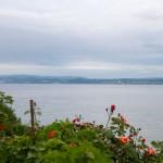 Widok z druga stronę jeziora