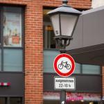 Na starym mieście obowiązuje ograniczony ruch rowerowy