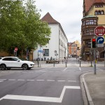 Pomimo nakazu jazdy w prawo, rowerzyści mogą jechać prosto