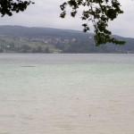 Widok na jezioro Untersee z platformy widokowej