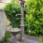 Pompa w ogrodzie pałacowym