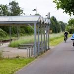 Nowa droga rowerowa i Park&Ride