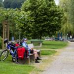 Berlingen – odpoczynek przy promenadzie