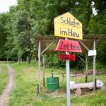 """Atrakcja turystyczna dla mieszczuchów – spanie na sianie """"Schafen im Heu"""""""