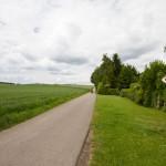 Na drodze rowerowej w kierunku Schiffhausen
