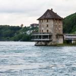 Przełom Renu z widokiem na zamek Wörth