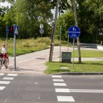 Droga rowerowa w Lubniewicach