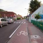 W Lubniewicach droga rowerowa wydzielona z jedni
