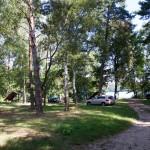 Leśne miejsce biwakowania (płatne)