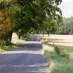Szybki zjazd z górki do Lubniewic