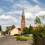 Lubniewice. Gotycki kościół z XV w