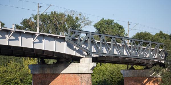 Kolejowy most na Starołęce