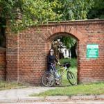 Brama boczna do parku