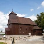 Nosków. Drewniany kościół z 1749 r