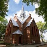 Jeziorki. Neogotycki kościół z 1896-97