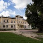 Jeziorki. Pałac z końca XIX w. Obecnie szkoła i przedszkole