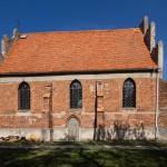 Kościół w Warzymowie na szlaku gotyckim