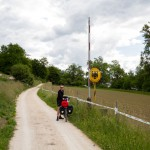 Przejeżdżamy przez enklawę Niemiec na terenie Szwajcarii – gminę Büsingen