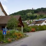 Stein nad Renem, w górze zamek Hohenklingen