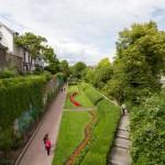 Radolfzell. Mały fragment ogrodu miejskiego