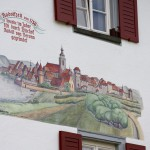 Radolfzell – malunek obrazuje wygląd miasta w 1750