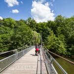 Most wiszący na rzece Argen