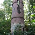 Ruiny wieży Bismarcka w Wieleniu