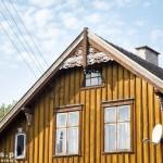 Tujsk. Zachowany charakter pierwotnej zabudowy wsi