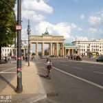 Wydzielona droga rowerowa w kierunku Charlottenburg