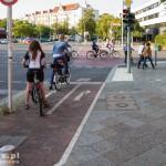Wysepki dla rowerzystów do skrętu w lewo (za sygnalizacją)