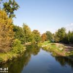 Braniewo. Jesień nad Pasłęką