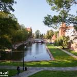 Braniewo. Park miejski