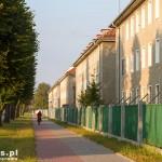Z Braniewa wyjeżdżamy drogą pieszo-rowerową