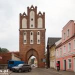 Pasłęk. Gotycka Brama Kamienna z 1330 r