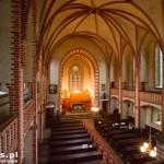 Głusko. Wnętrze kościoła